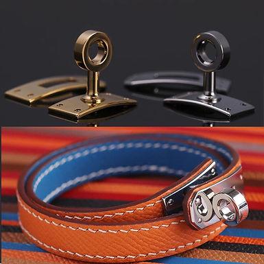 Stainless Steel Rectangle Turn/Twist Lock for Bracelet