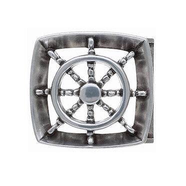 3D Belt Buckle | Ships Wheel Design