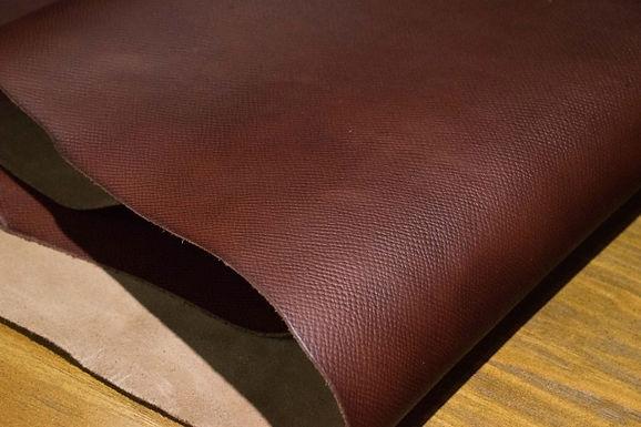 Horween Leather | Russian Hatch Grain | Tan