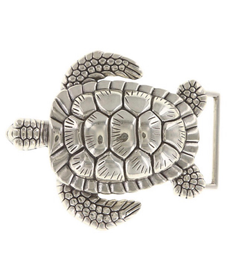 3D Belt Buckle | Turtle Design