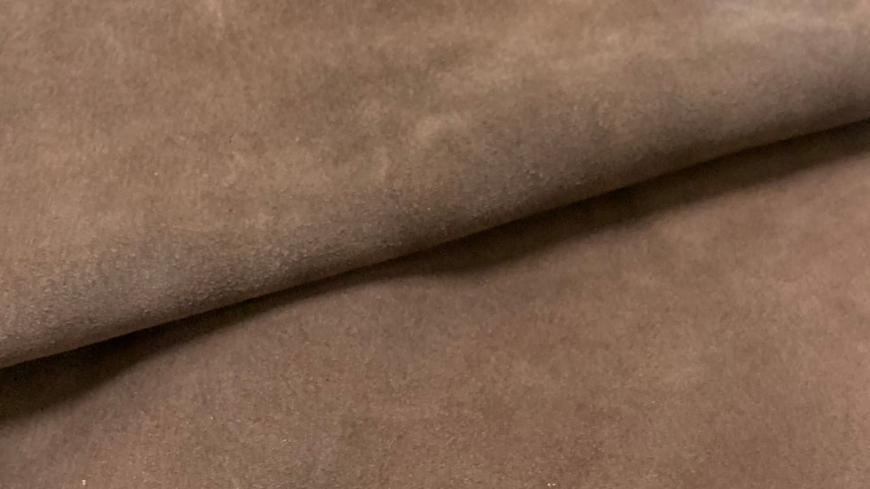 Brown Suede Leather  | 1.2/1.4mm | Italy