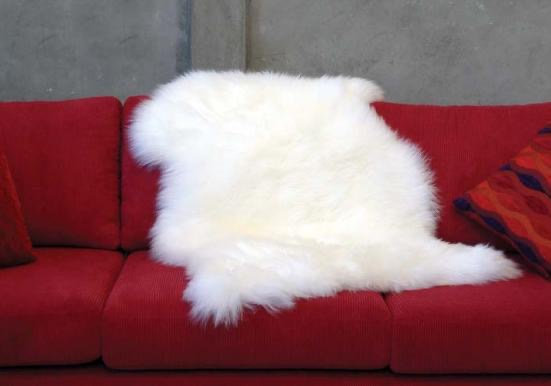 Longhair Sheepskin Rug | One Piece