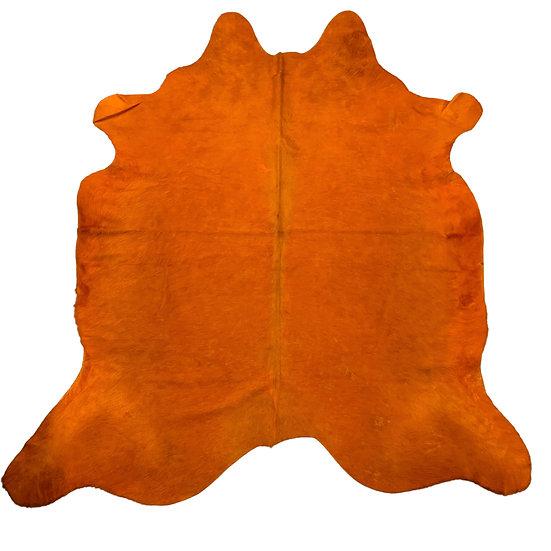 Dyed Cowhide | Orange