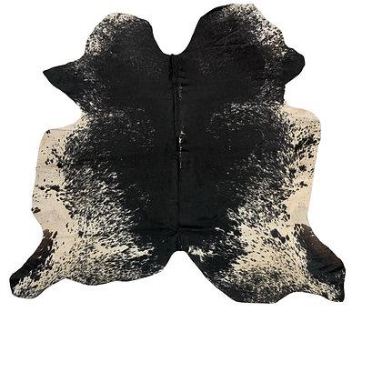 Cowhide Rug   Black Speckle   L   10092
