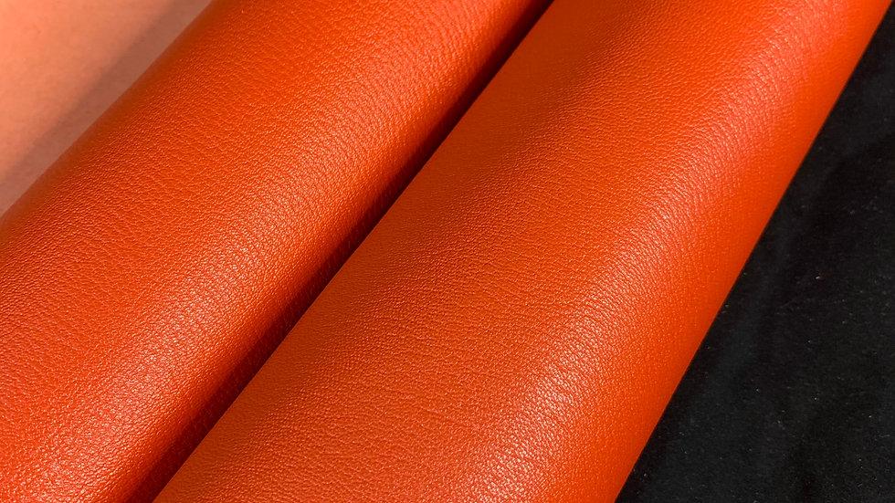 French Chevre Crispee   Orange   Full Vegetable Tanned