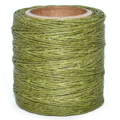 Waxed Polycord   Olive   Maine Thread