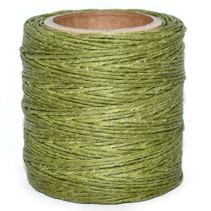 Waxed Polycord | Olive | Maine Thread