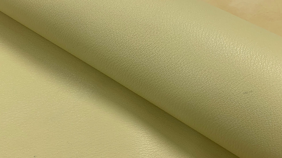 French Chevre Crispee | Pale Yellow | Full Vegetable Tanned