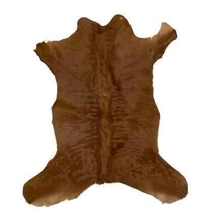 Calf Hide Rugs | Red Brown | XS cowhides