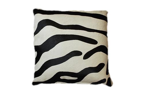 Zebra Cowhide cushion