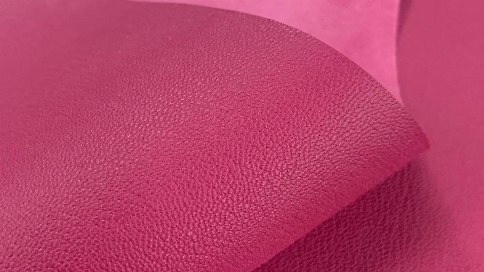 French Chevre Crispee | Pink | Full Vegetable Tanned