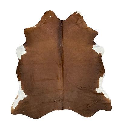 Cowhide Rug | Brown | L | 10226