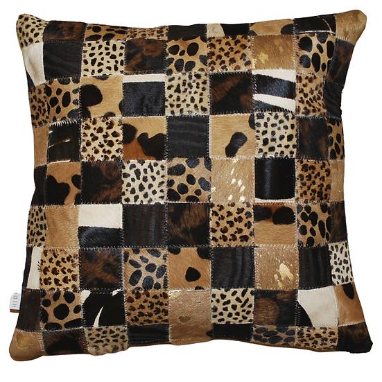 Cowhide Cushion | Safari Soho | 45cm x 45cm