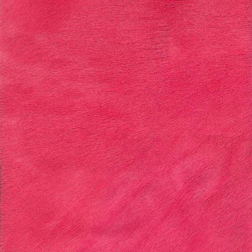 Italian Dyed Cowhides   Dark Pink