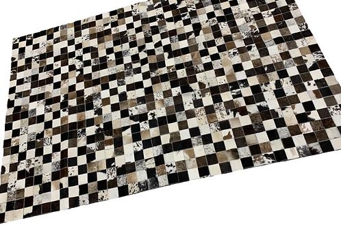 Patchwork Cowhide Rug | Natural Browns 120 x 180cm
