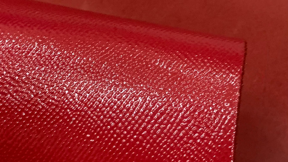 High Gloss Epsom Leather  | Red