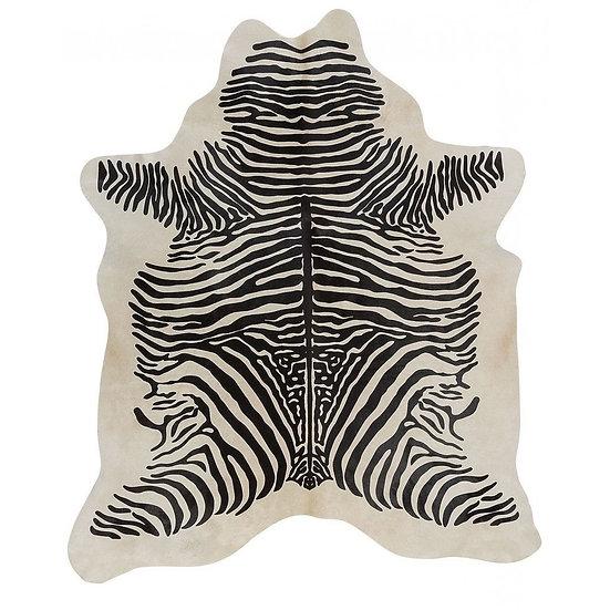 African Zebra printed Cowhide