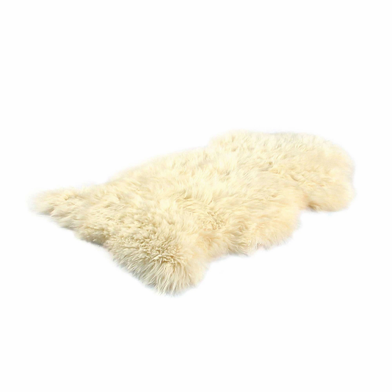 Champagne | Single Longhair Sheepskin Rug | New Zealand