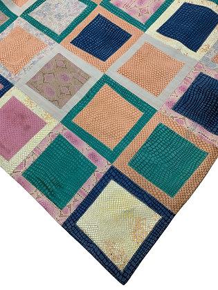 Leather Rug | 210cm x 240cm | Multicolour