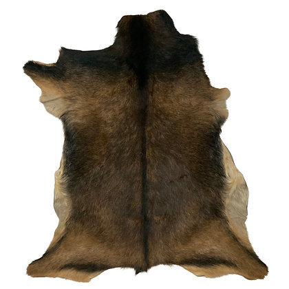Goat Hide Rugs   Natural Pattern  10275