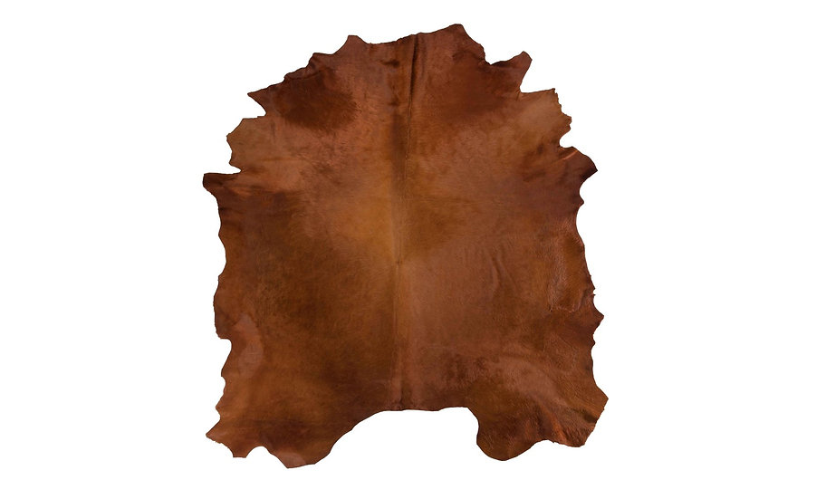 Italian Dyed Cowhides   Cacao
