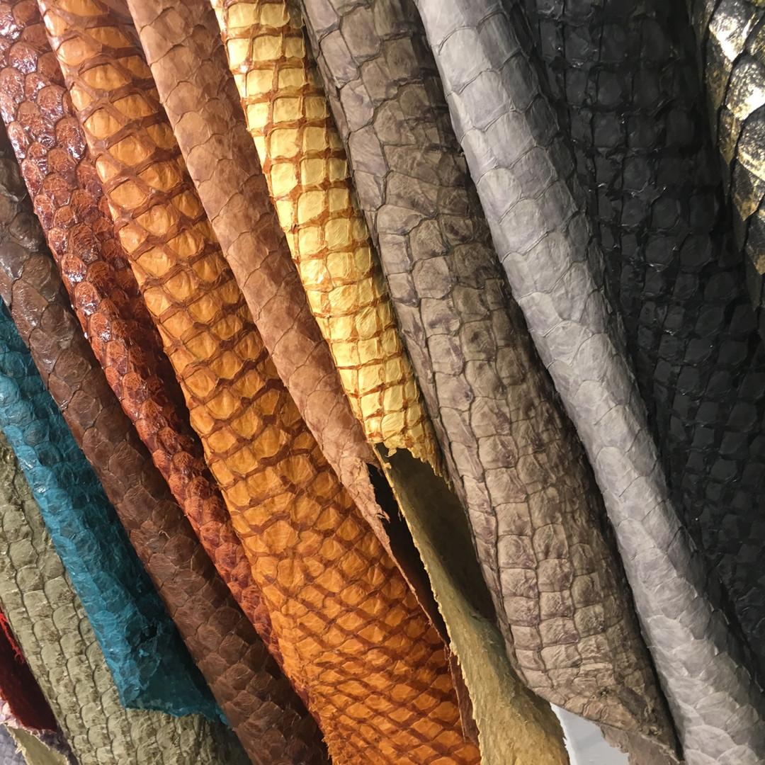 Arapaima Leather