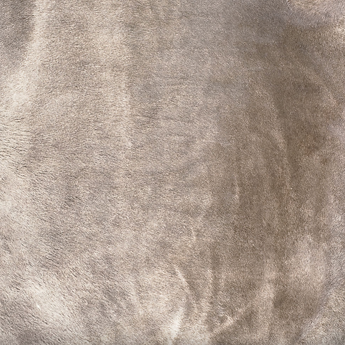 Italian Dyed Cowhide Rug | Corrosion | Gin Tonic