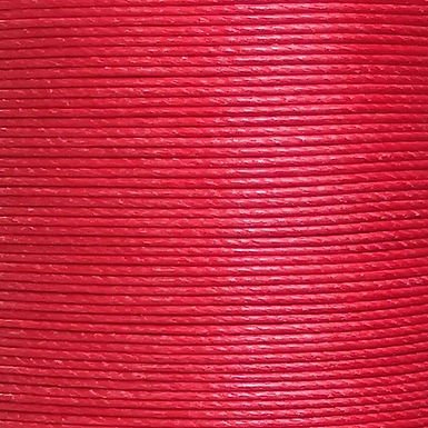 Superfine Waxed Linen Thread |  Bright Red | MS053