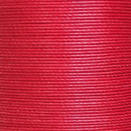 Meisi Waxed Linen Thread | Bright Red | MS053