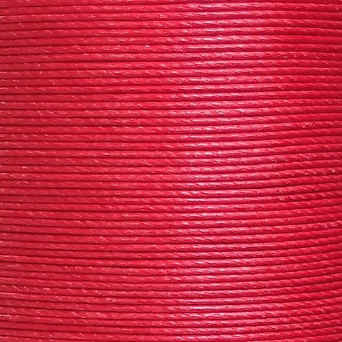 Meisi Waxed Linen Thread   Bright Red   MS053