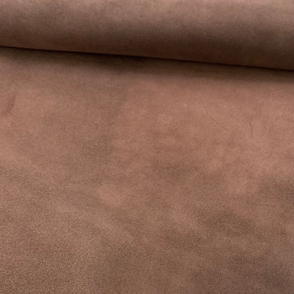 Mid Brown Suede Leather  | 1.0/1.2mm | Conceria M2