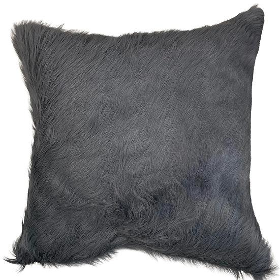 Cowhide Cushion   Soho    Pewter