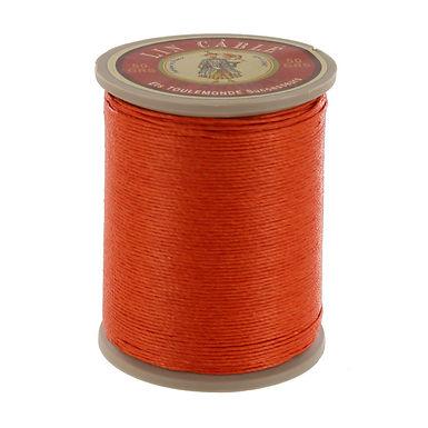 Fil Au Chinois | Waxed Linen Thread | Oranger 419 | 532