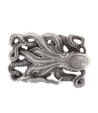 3D Belt Buckle | Octopus Design