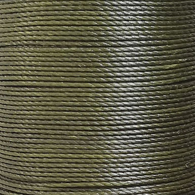 Weixin Waxed Polyester Thread | Army Green | MSW034