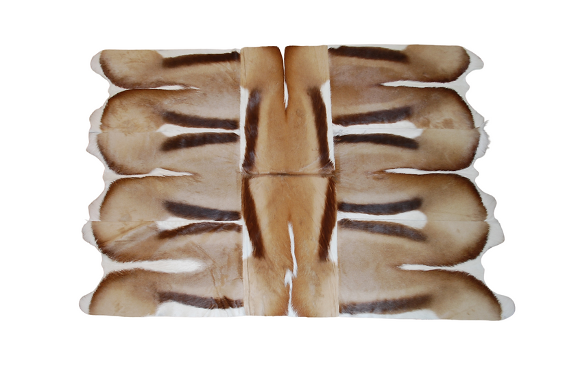 Patchwork Springbok Rug | 120 x 160cm