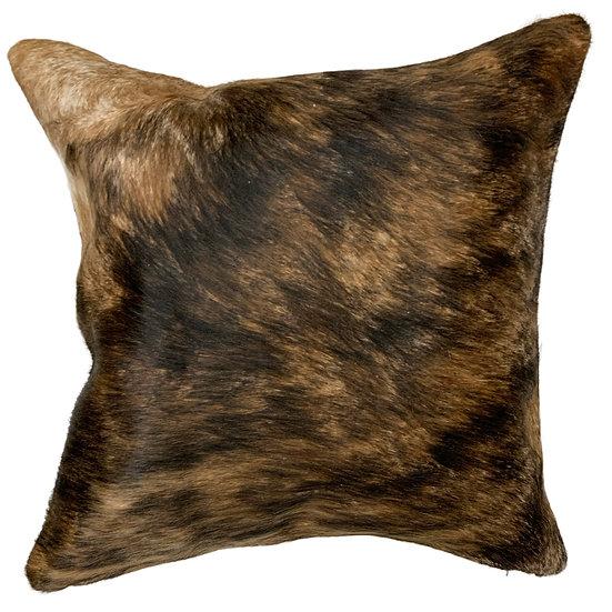 Soho Cowhide Pillow | Brindle | 45cm x 45cm