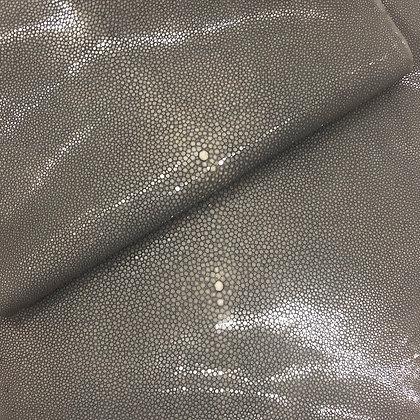 Stingray Leather | Grey | Polished