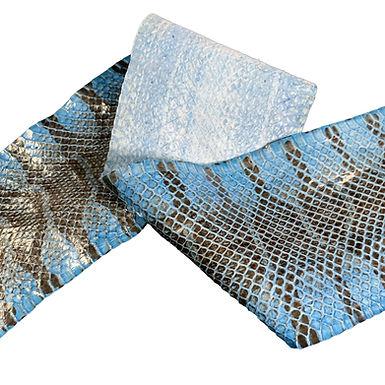Chury Snake | Light Blue Glazed