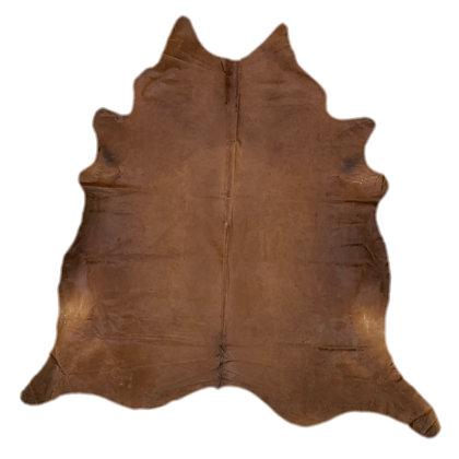 Cowhide Rug   Brown   L   10056