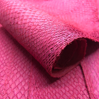 Salmon Suede Leather | Pink