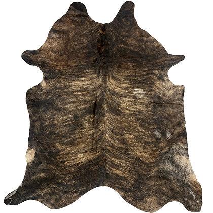 Cowhide Rug   Dark Brindle   XL   10239