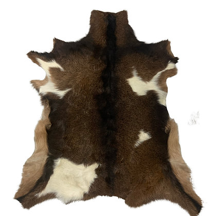 Goat Hide Rugs | Natural Pattern | 10265
