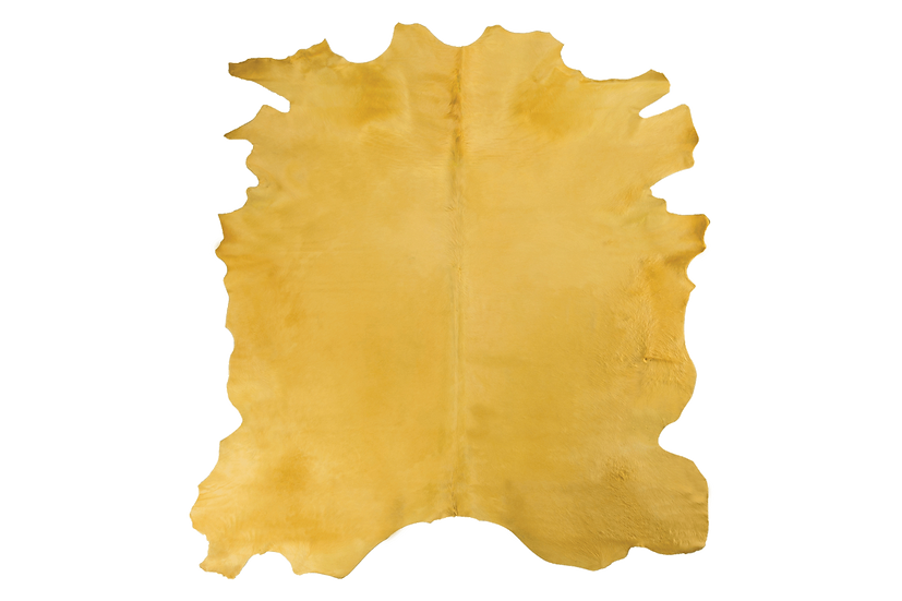 Italian Dyed Cowhides | Gold