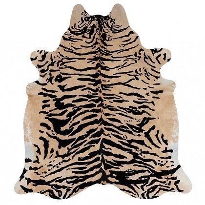 Siberian Tiger Printed Cowhide Rug