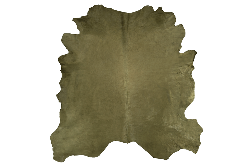 Italian Dyed Cowhides | Moss