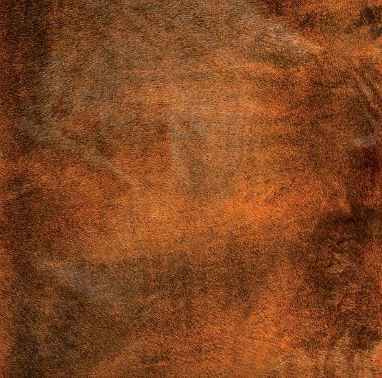 Italian Dyed Cowhide Rug | Corrosion | Negroni