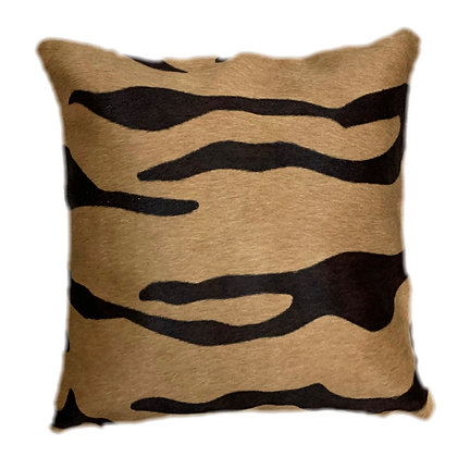 Cowhide Cushion | Tiger Print | 40cm x 40cm