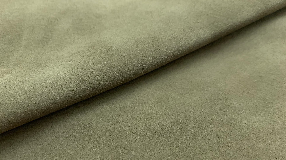 Olive Suede Leather  | 1.0/1.2mm | Conceria Tre Effe