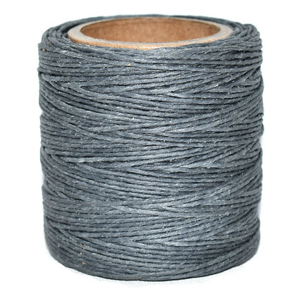 Waxed Polycord   Gray   Maine Thread